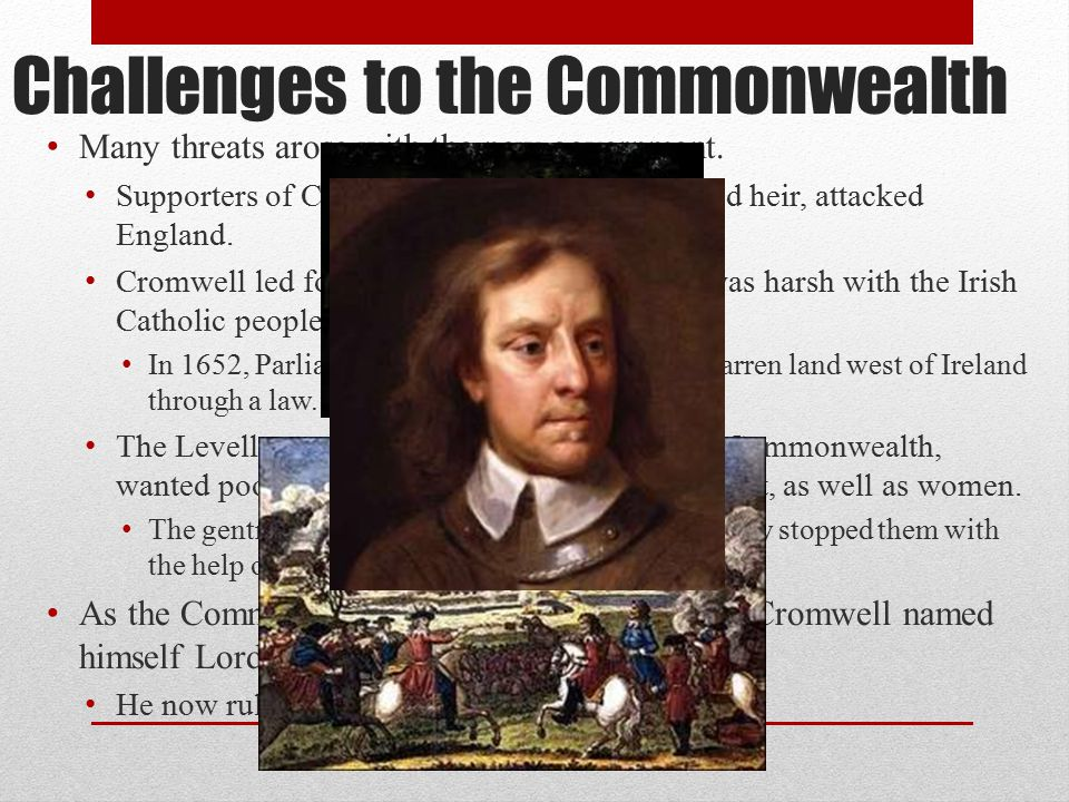 Challenges to the Commonwealth