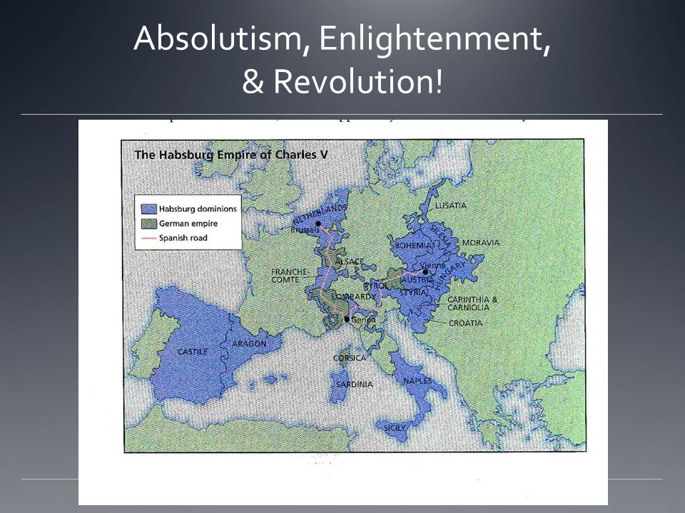 Absolutism, Enlightenment, & Revolution!