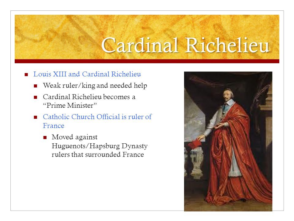 Cardinal Richelieu Louis XIII and Cardinal Richelieu