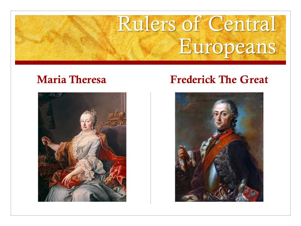 Rulers of Central Europeans