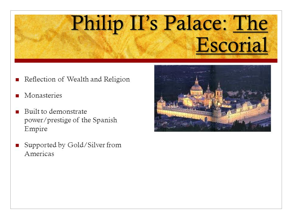 Philip II's Palace: The Escorial