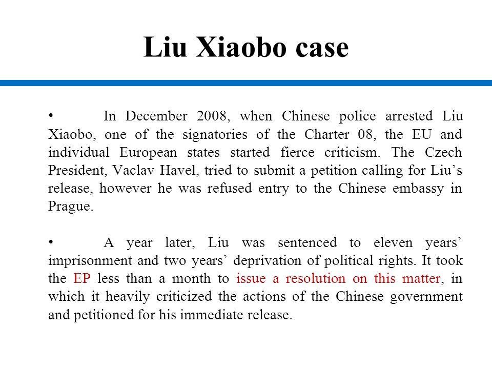 Liu Xiaobo case