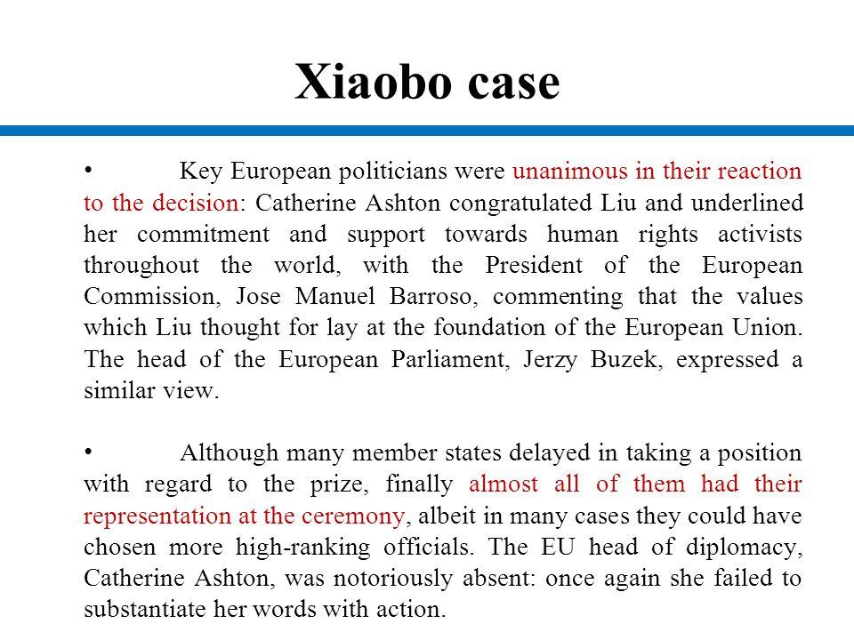 Xiaobo case