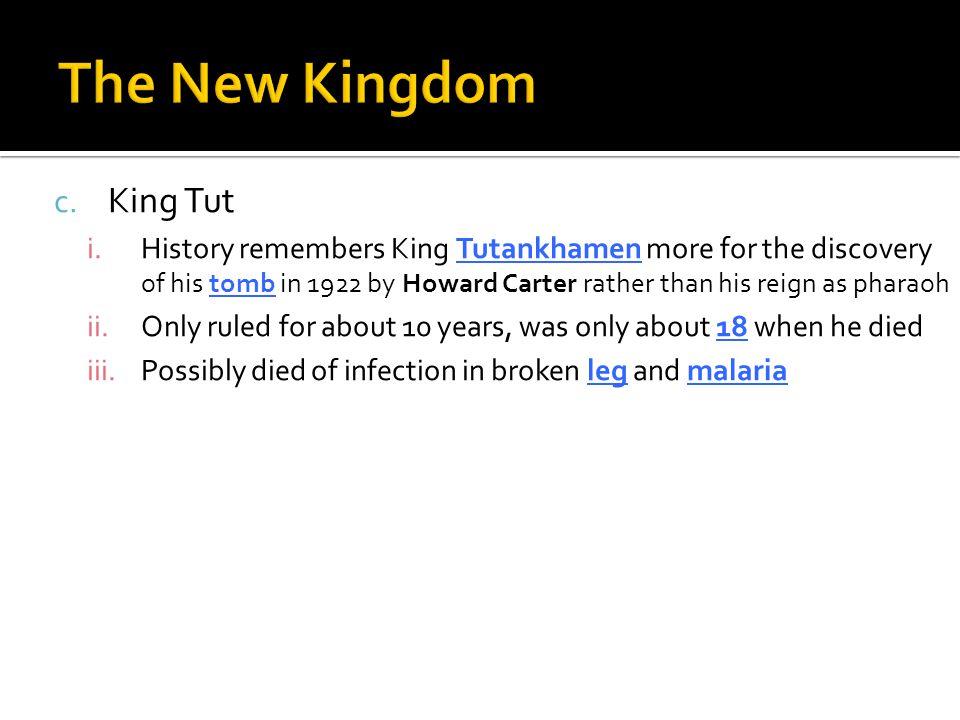The New Kingdom King Tut