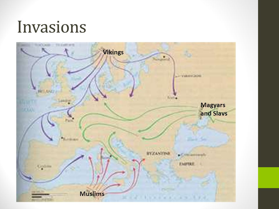 Invasions Vikings Magyars and Slavs Muslims
