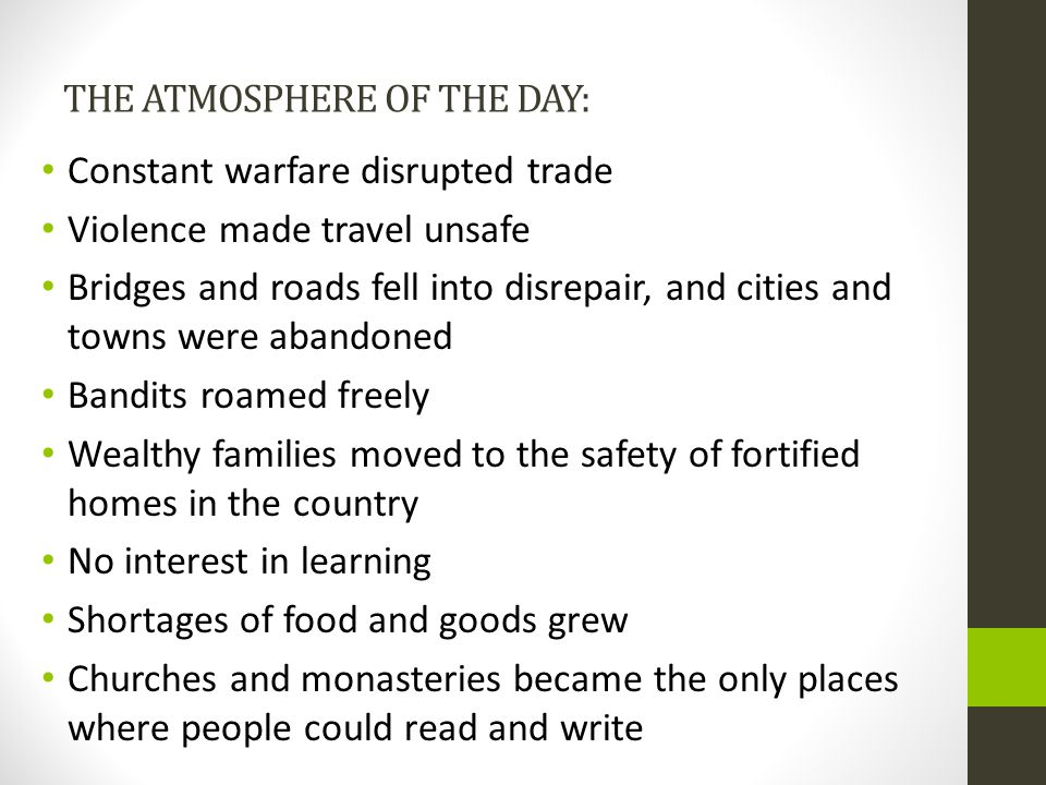 THE ATMOSPHERE OF THE DAY: