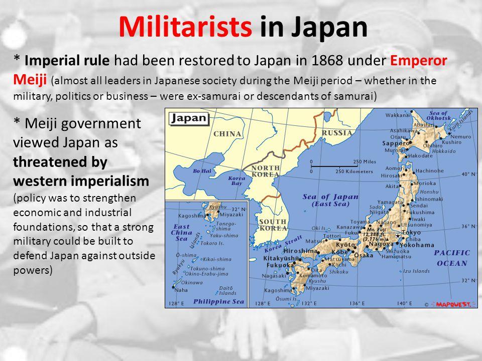 Militarists in Japan