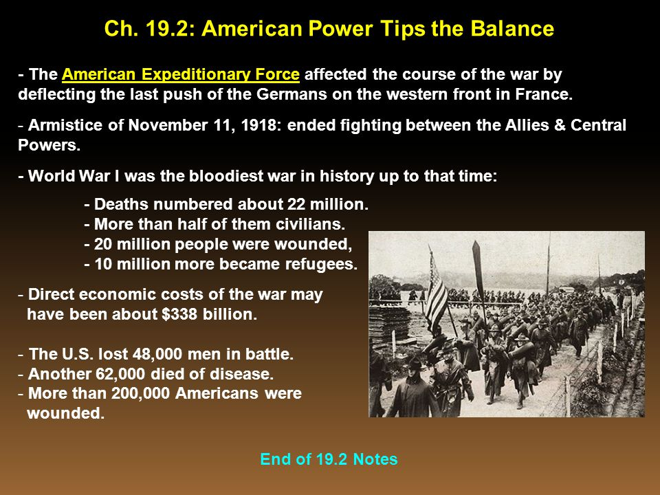 Ch. 19.2: American Power Tips the Balance