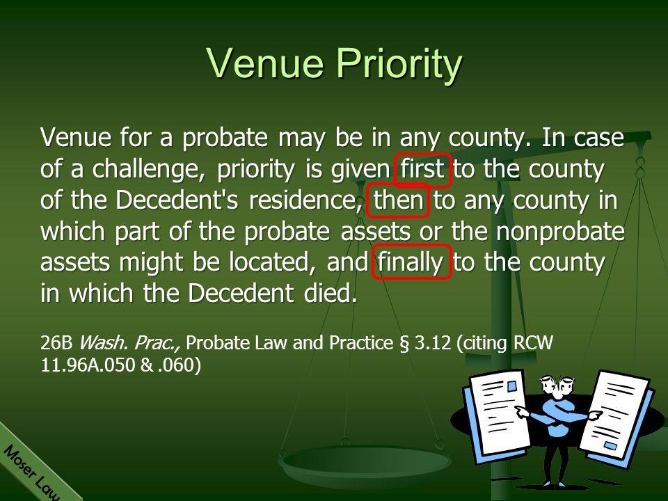 Venue Priority