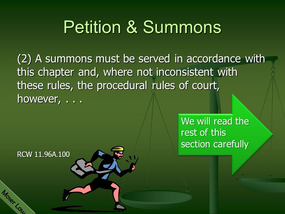 Petition & Summons