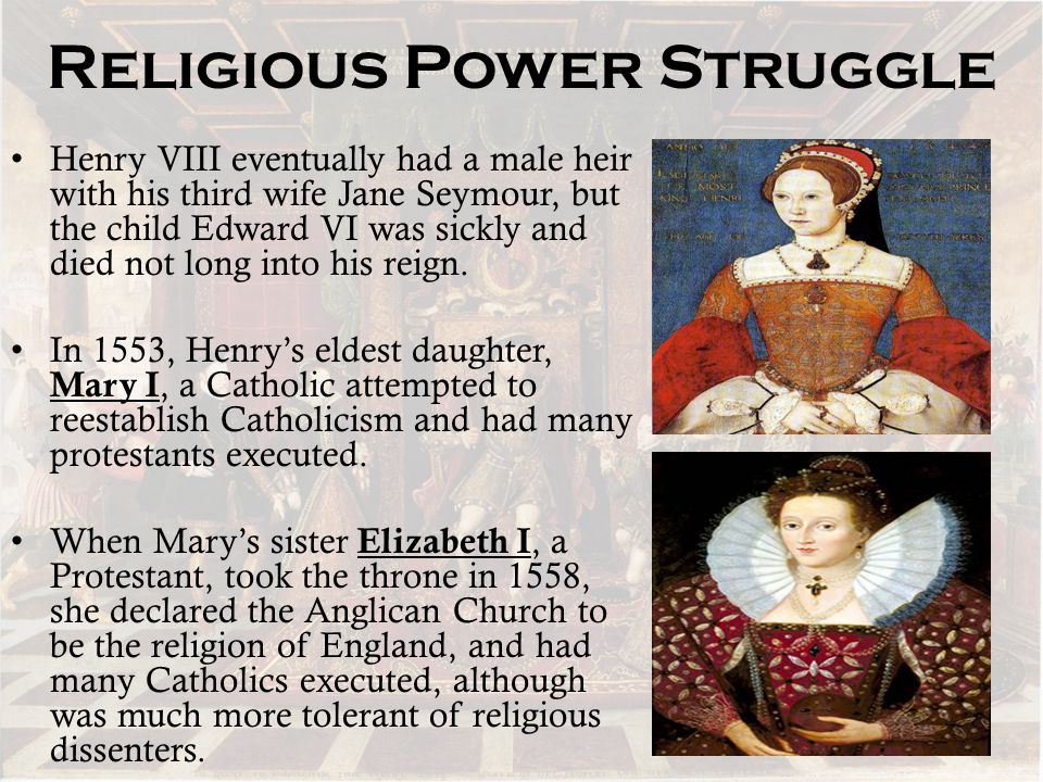 Religious Power Struggle