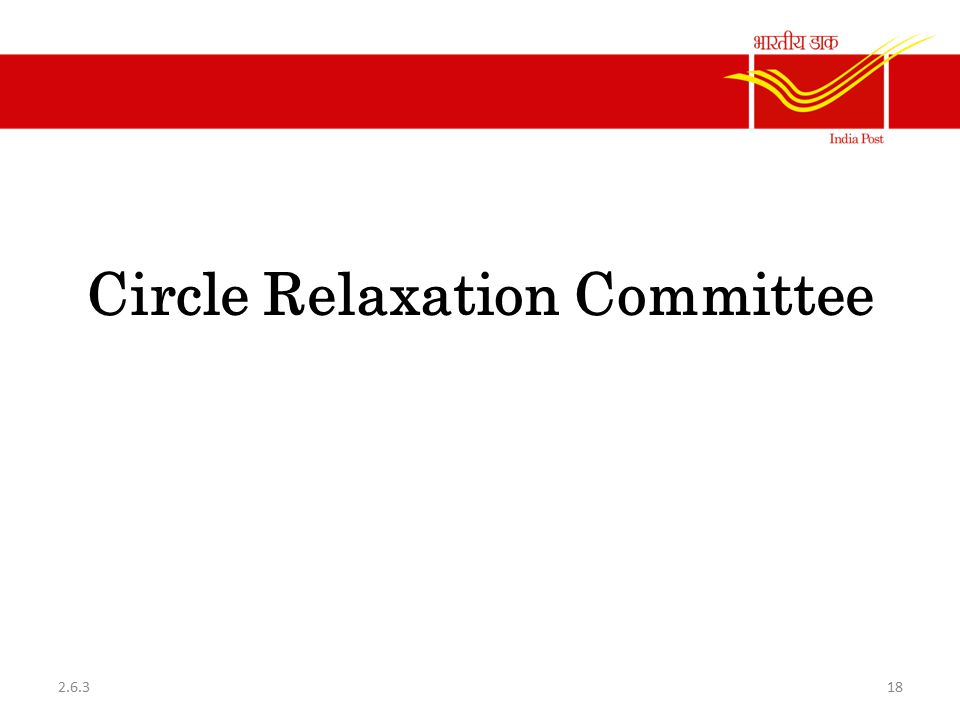 Circle Relaxation Committee