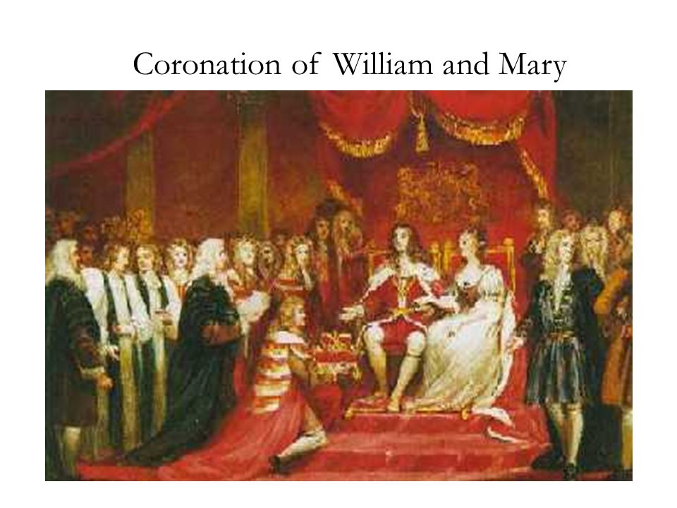 Coronation of William and Mary