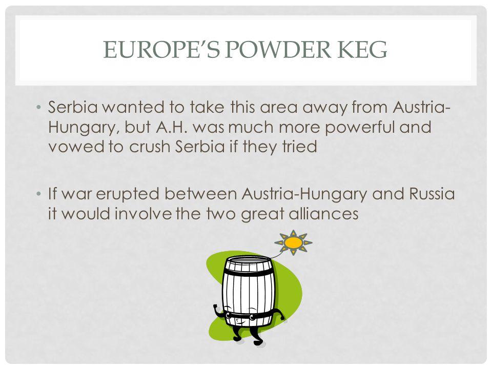 Europe's powder keg