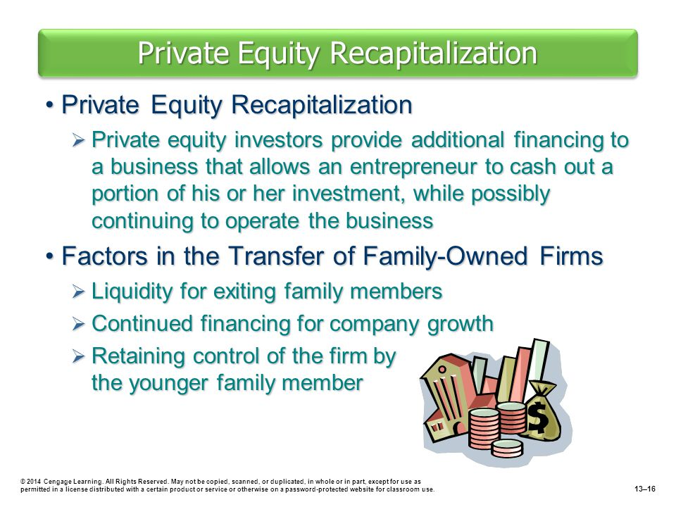 Private Equity Recapitalization