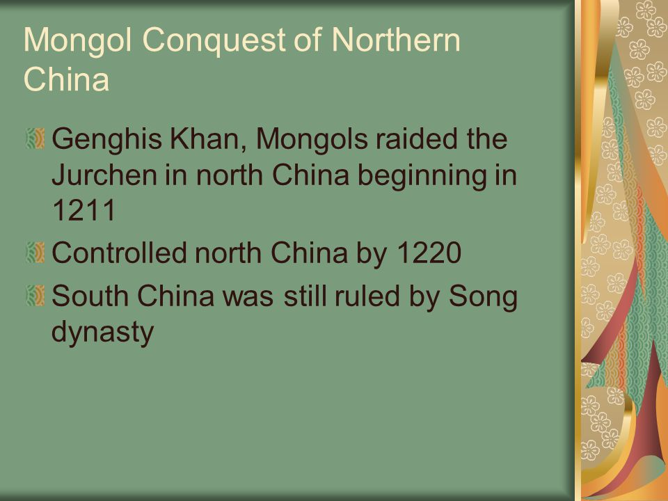Mongol Conquest of Northern China
