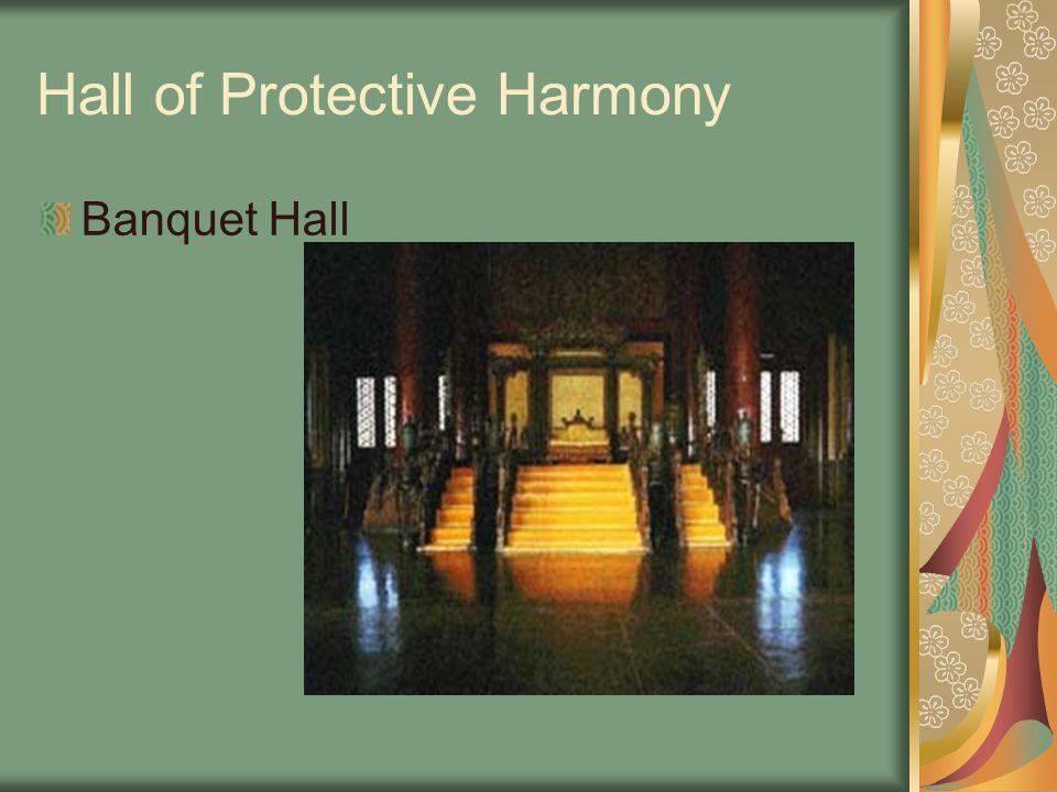 Hall of Protective Harmony