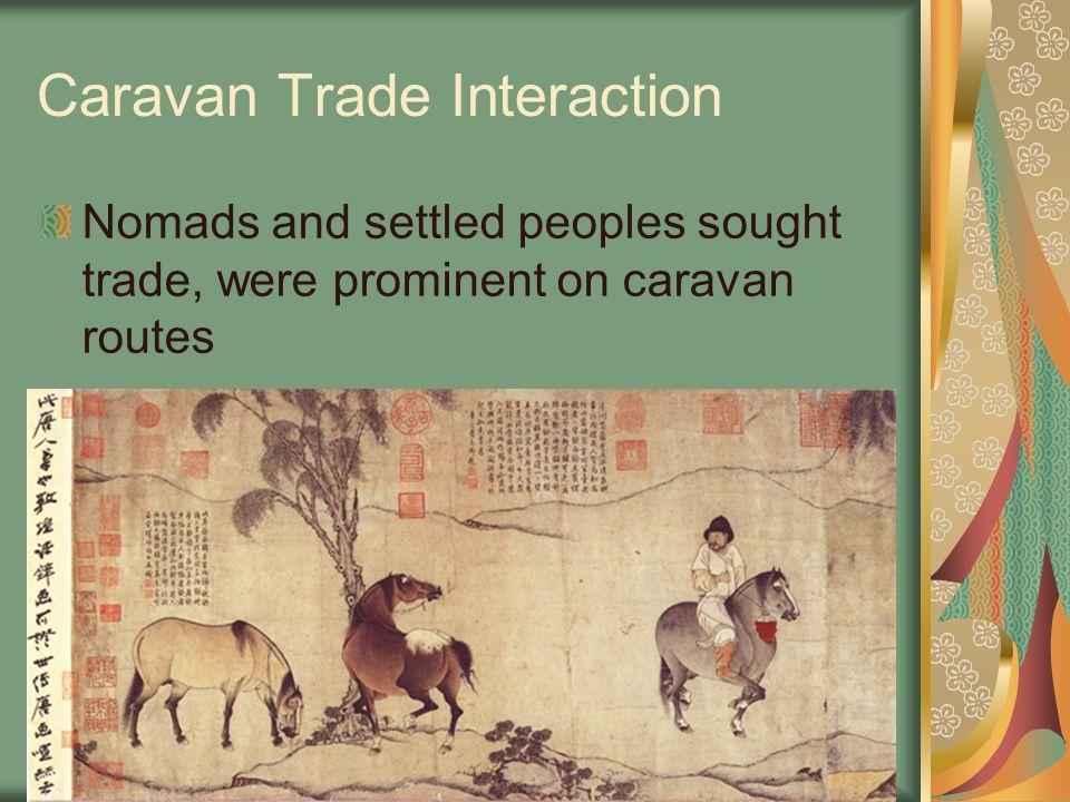 Caravan Trade Interaction