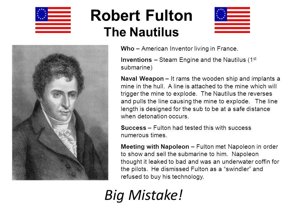 Robert Fulton The Nautilus