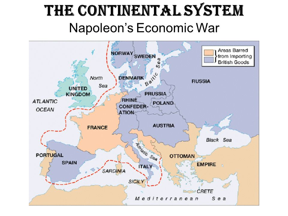 The Continental System Napoleon's Economic War