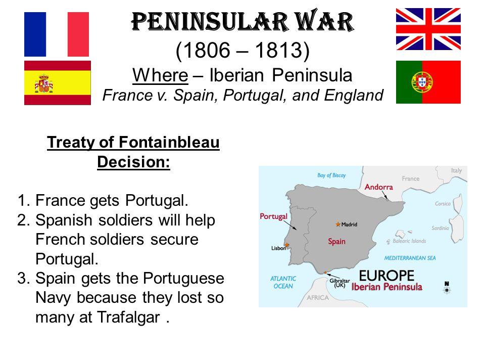 Treaty of Fontainbleau Decision: