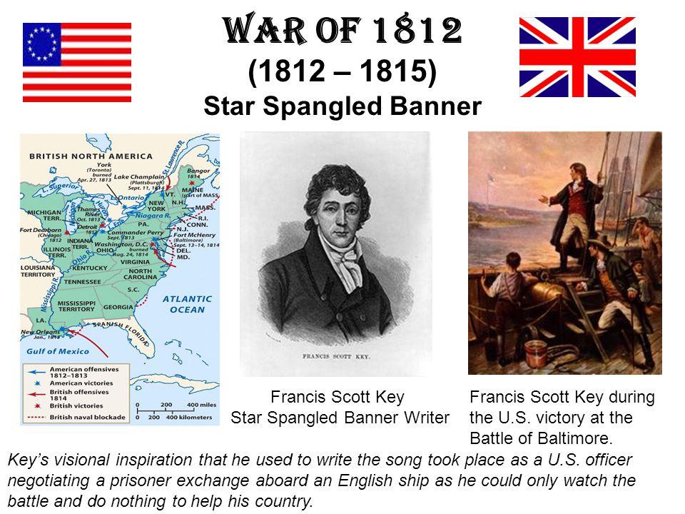 War of 1812 (1812 – 1815) Star Spangled Banner