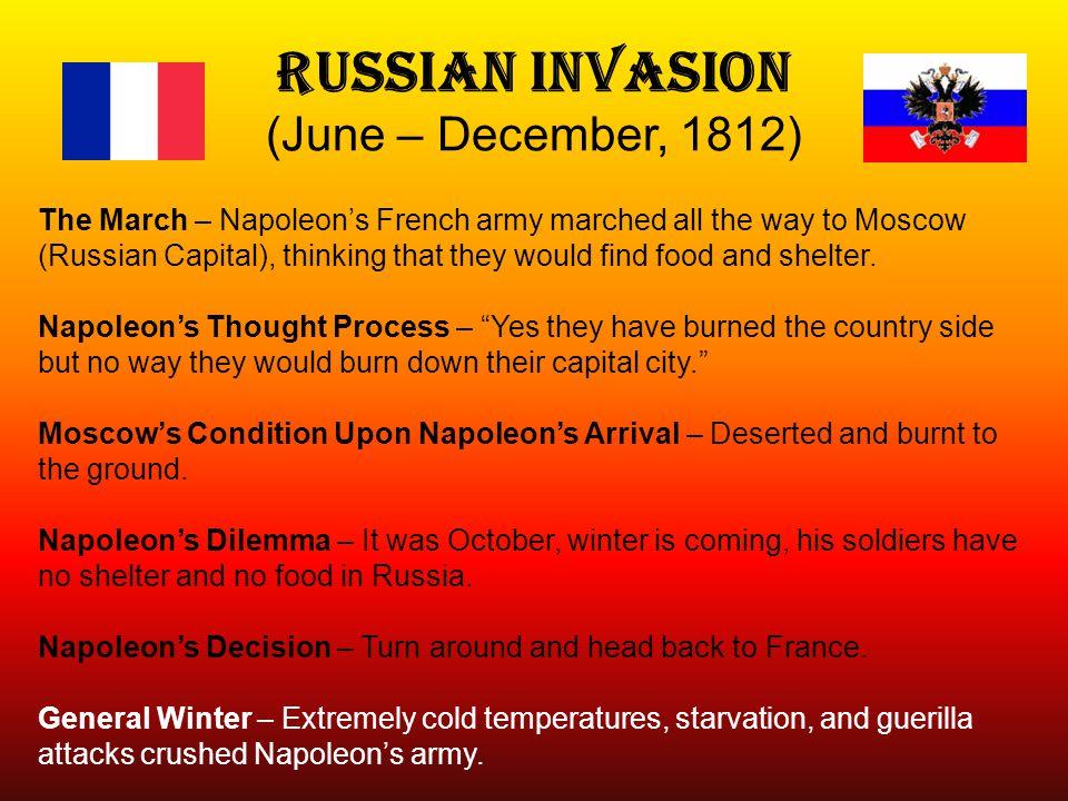 Russian Invasion (June – December, 1812)