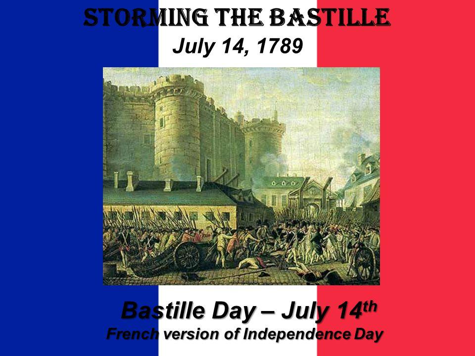 Storming The Bastille July 14, 1789