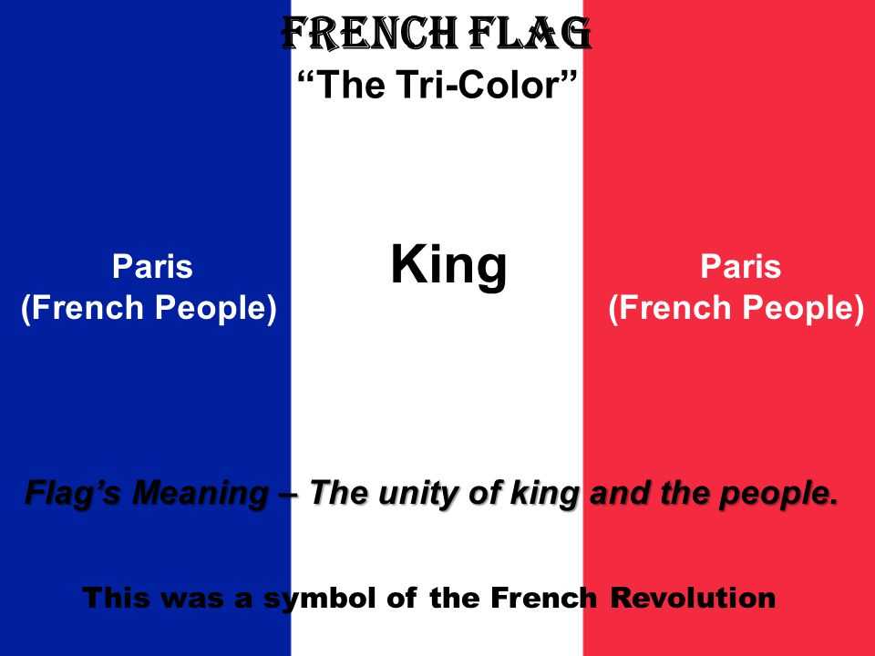 French Flag The Tri-Color