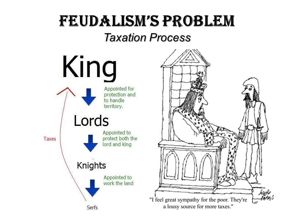 Feudalism's Problem Taxation Process