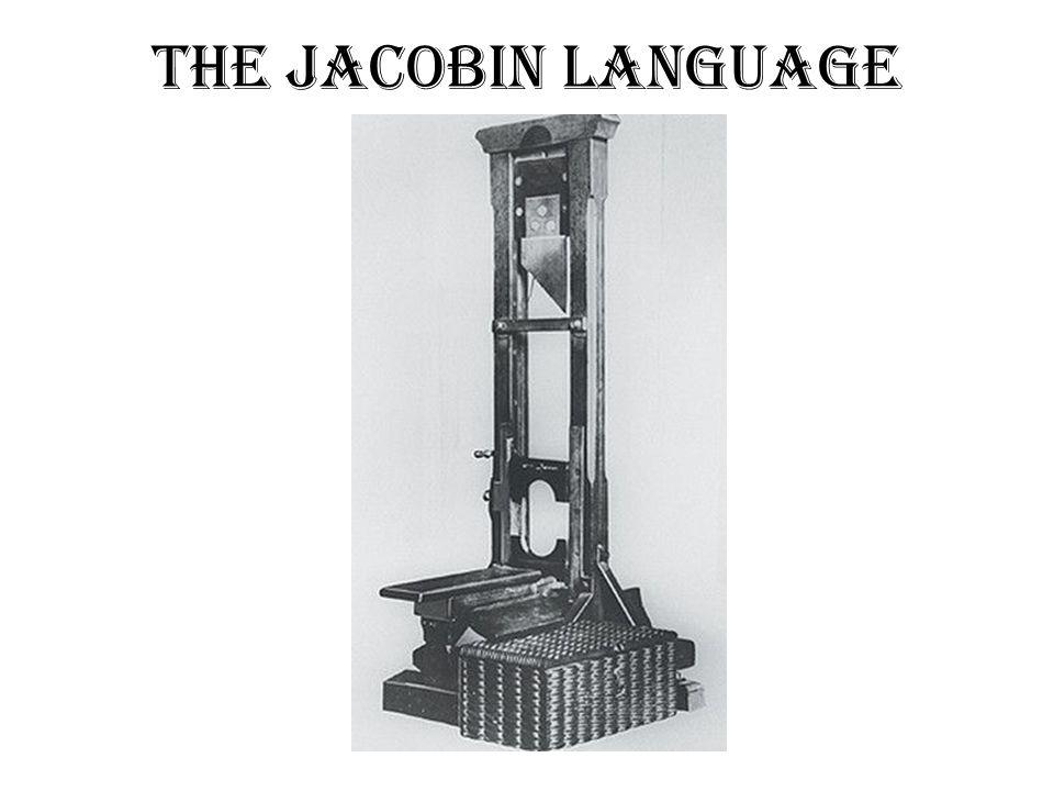 The Jacobin Language