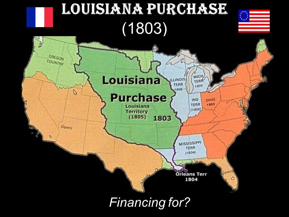 Louisiana Purchase (1803) Financing for