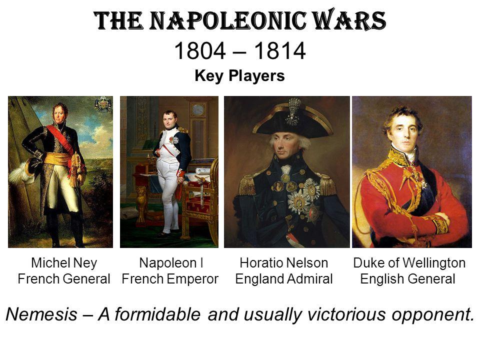 The Napoleonic Wars 1804 – 1814 Key Players