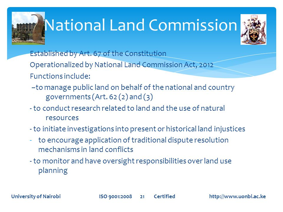 National Land Commission