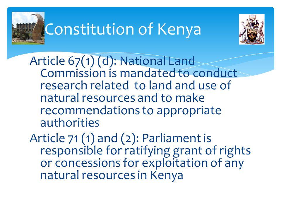 Constitution of Kenya