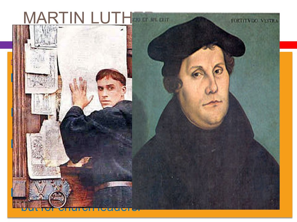 MARTIN LUTHER 95 THESES. Luther thought selling of indulgences was sinful. In his theses, he denied that indulgences had ANY power to remit sin.