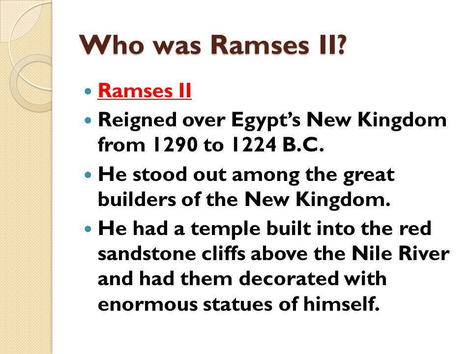Who was Ramses II Ramses II