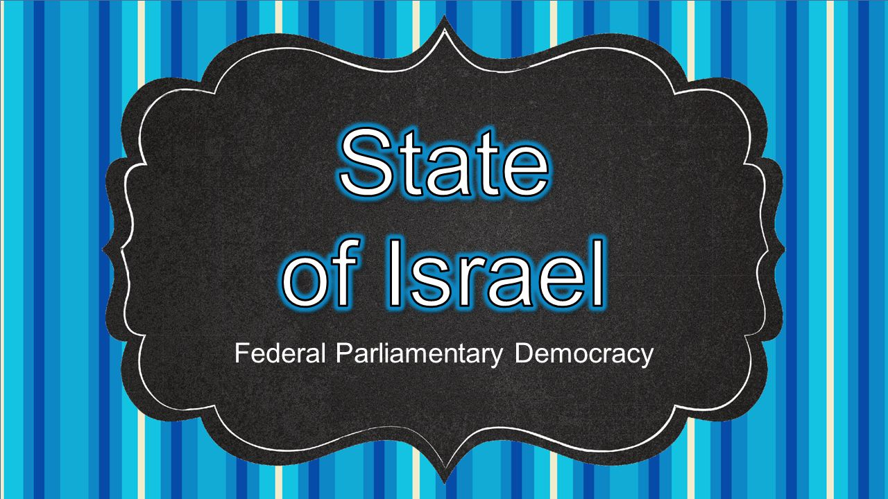 Federal Parliamentary Democracy
