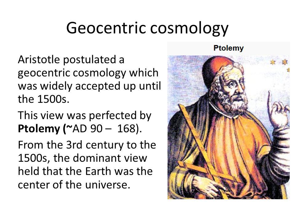 Geocentric cosmology