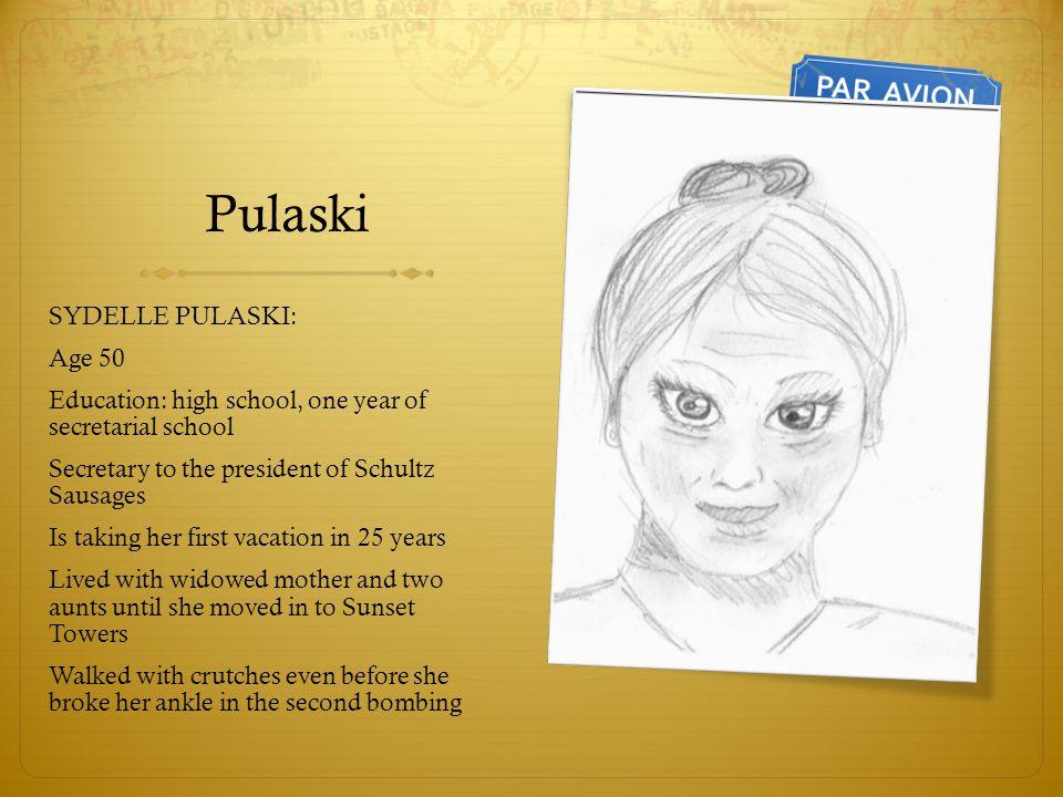 Pulaski SYDELLE PULASKI: Age 50