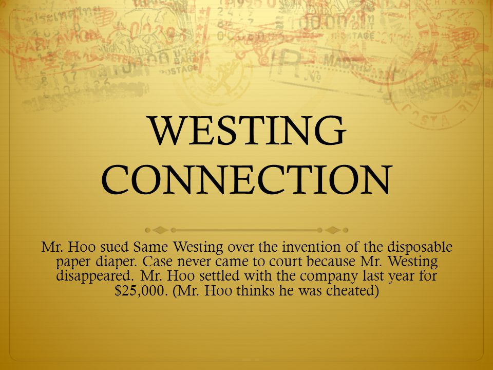 WESTING CONNECTION