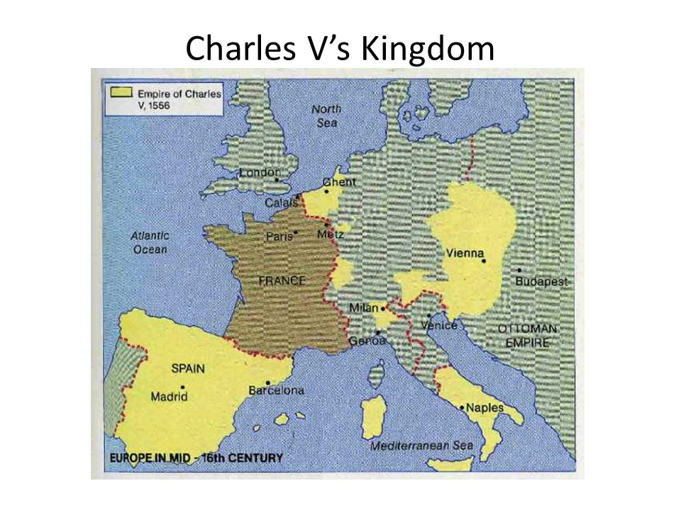 Charles V's Kingdom