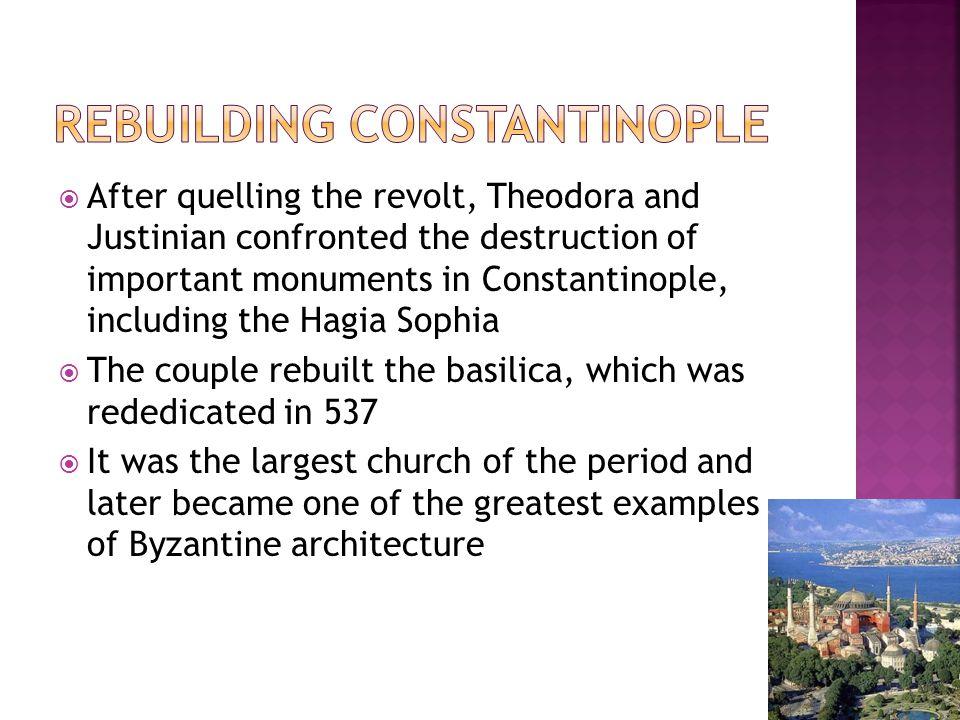 Rebuilding Constantinople