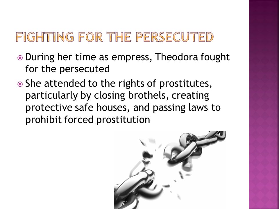 Fighting for the Persecuted