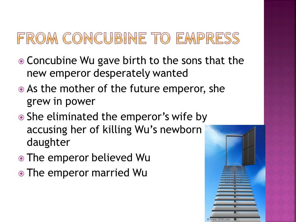 From Concubine to Empress