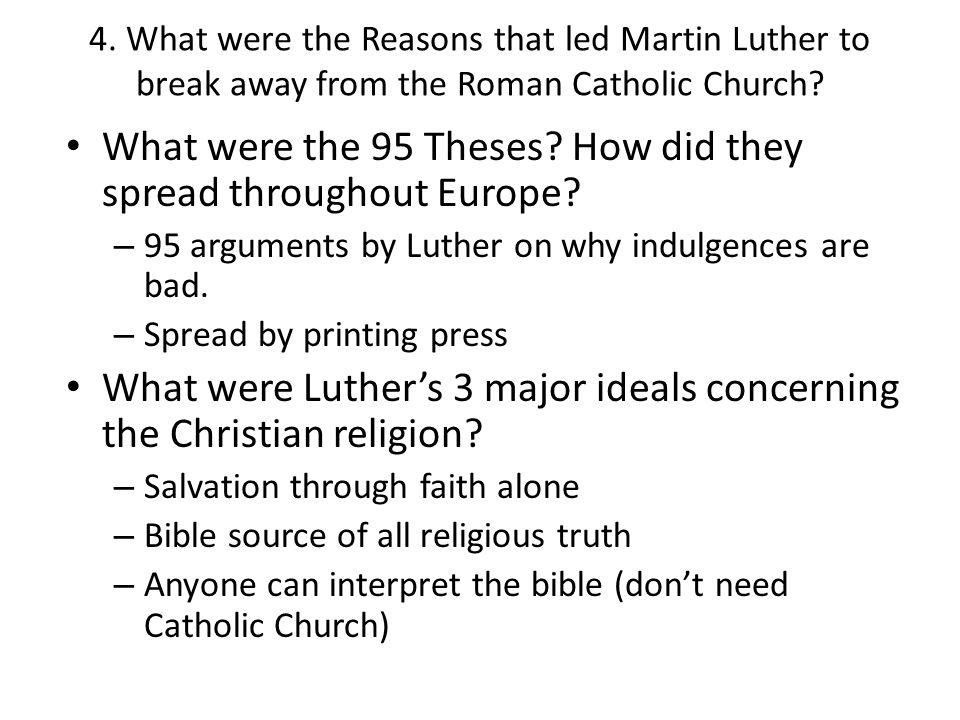 What were the 95 Theses How did they spread throughout Europe