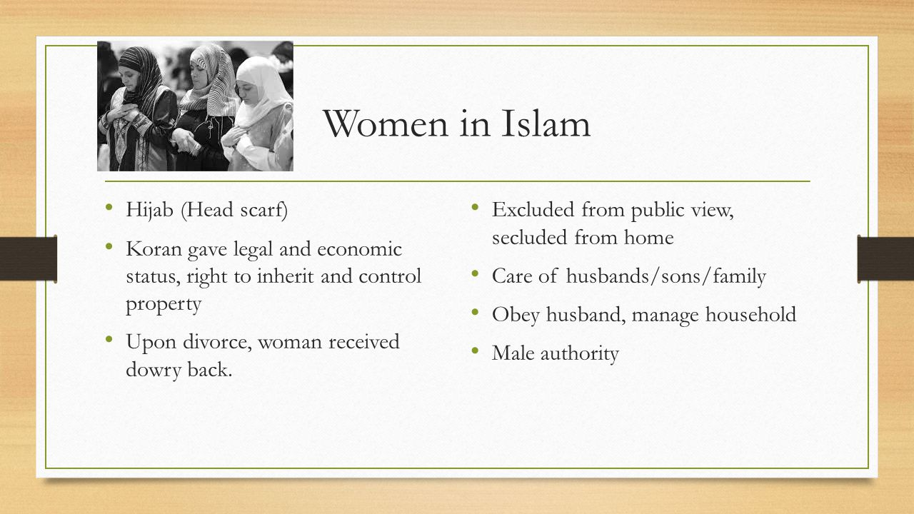Women in Islam Hijab (Head scarf)
