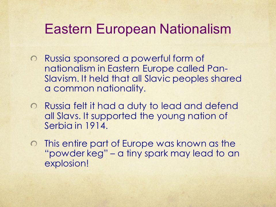 Eastern European Nationalism