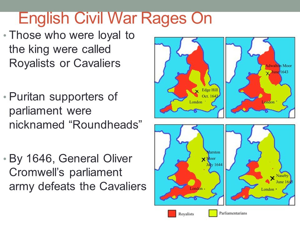 English Civil War Rages On