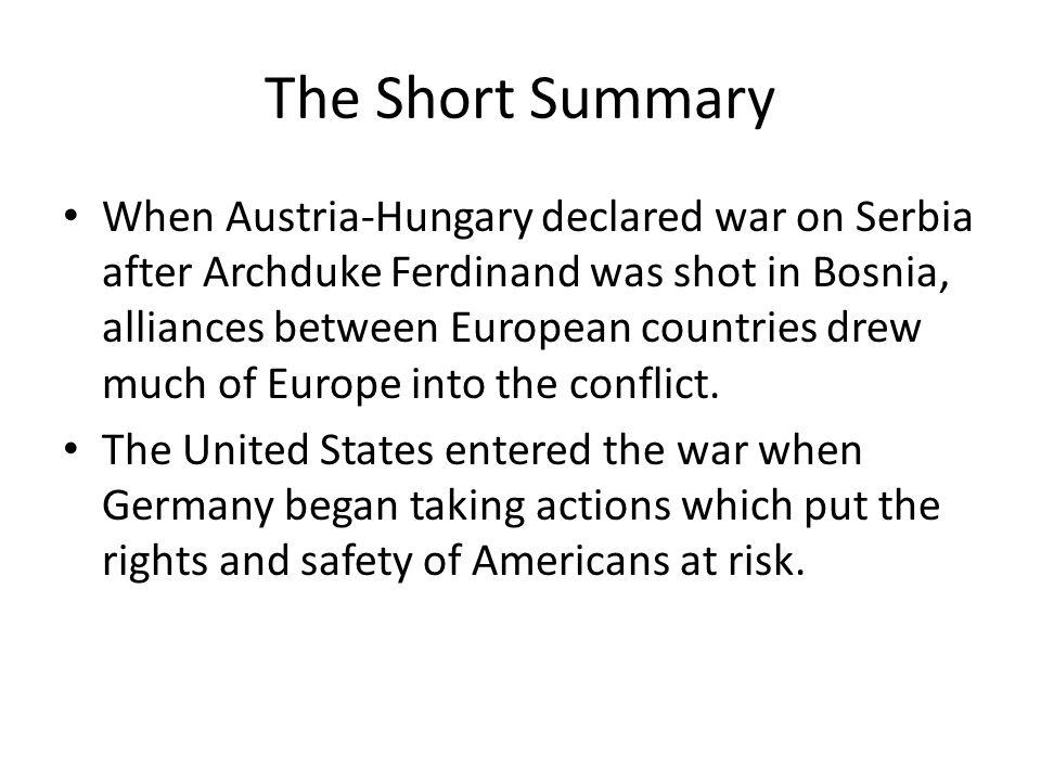 The Short Summary